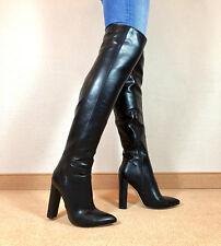 1fee6f7d5364 Exklusiv Sexy Damen Schuhe Overknee Stiletto Stiefel Männer Boots F6