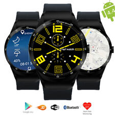 Smart Watch & Phone 3G Android 4.4 Heart Rate Monitor GSM Unlocked AT&T T-mobile