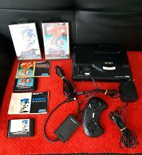 console sega mega drive + 2 jeux