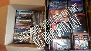 Miscellaneous DVDs 99p EACH free postage select title from list