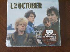 October [Deluxe, Remastered, Bonus Disc] U2 (2CD, 2008 Island (Label)) NEW