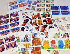 Special Unused 100 of Multiples & Strips & Singles 32¢ US PS Stamps. FV $32.00
