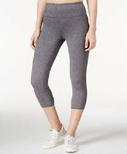 New Calvin Klein Performance Womens Cotton Cropped Capri Leggings Pants PF6P0738