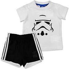 Adidas Star Wars KLON Guerrero Imperium Traje Bebé Niño Pequeño Niño Pantalones