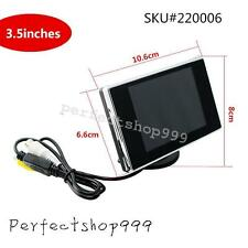 "Mini 3.5"" TFT LCD Color Screen Car Video Rearview Monitor Camera For Car Backup"
