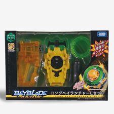 Takara Tomy Beyblade Burst B-124 Long Bey Launcher L Spin Set Cho-Z New In Box