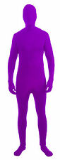Adult 2nd Skin Disappearing Full BodySuit Stretch Jumpsuit Zentai Costume