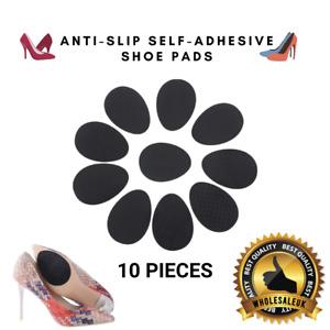 10x Self-Adhesive Anti-Slip Stick Shoe Grip Pads Non-Slip Rubber Sole Protector