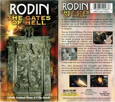 Rodin Gates of Hell VHS Video Tape New ( Kultur Release )