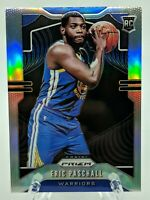 2019-20 Panini Prizm Eric Paschall Silver Refractor Rookie Card #279 Warriors RC