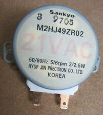 Genuine Sankyo M2HJ49ZR02 Synchronous Motor FROM Samsung Microwave