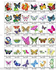 650 +/- BUTTERFLY DRAGONFLY BROTHER EMBROIDERY MACHINE DESIGN COLLECTION SET PES