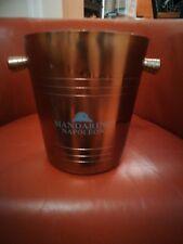 RARE Vintage Mandarine Napoloeon Advertising Promotional Wine Cooler Ice Bucket