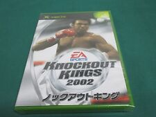 XBOX -- KNOCKOUT KINGS 2002 -- JAPAN. GAME. SEALED & NEW. 36883