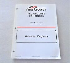 MerCruiser Technician's Handbook 1997 Gasoline Engines 90-806535970