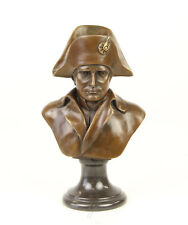 Napoleon Bonaparte Figur Skulptur Büste Bronze Boonzebüste Jugendstil Neu