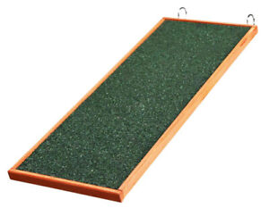 Trixie Natura Wooden Ramp for Animal Cages, Small Pet Cage Stairs 1 x 20×50 CM