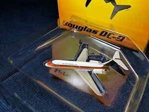 "Aeroclassics Continental Airlines ""Black Meatball"" DC-9 1:400 VERY RARE"