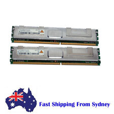 4GB (2X2G) PC2-5300F DDR2-667 Fully buffered ECC Server Memory HYS72T256420HFA
