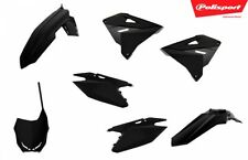 Polisport Restyled Plastics Kit Black #90865 for Suzuki Rm250/Rm125 (Fits: Suzuki)