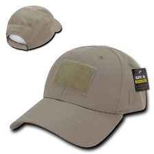 Khaki Tactical Operator Contractor Patch Low Crown Baseball Ball Cap Hat