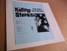 Rolling Stones - The BBC Sessions  (1964-65) rare live LP Not Tmoq NM
