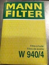 Mann Oil Filter W940/4 Ford Chrysler Mazda