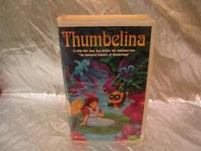 Thumbelina VHS Large Case WorldVision Animated