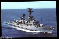 USS Benjamin Stoddert DDG-22 postcard US Navy warship guided missile destroyer