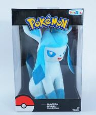 Pokemon Glaceon Plush Toys R Us Exclusive Doll Cute Anime Eevee Figure Japan New