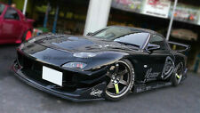 Front Bumper Canard Body kits For Mazda RX-7 FD R-Magic Carbon Fiber