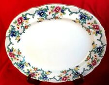 "Royal Cauldon ~ Victoria ~Oval Serving Platter ~ 15"" ~ England"