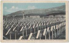 1920s World War I Italian War Cemetery on the Asiago Plateau Postcard