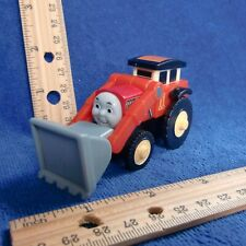 Authentic Thomas Wooden Rail Truck JACK Front Loader Red 2003 vtg ok Gullane