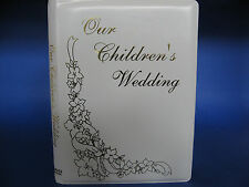 Our Childrens Wedding DVD Album - Double DVD / CD Event Holder