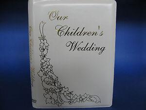 Our Childrens Wedding DVD Album - Single  DVD / CD Event Holder