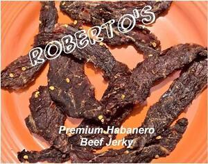 Premium Gluten Free Beef Jerky - Habanero Hot!! - 99% Same Day Shipping!!