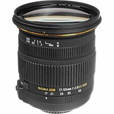 Sigma 17-50mm f2.8 EX DC OS HSM Zoom Lens for Nikon DSLR Camera, Brand NEW