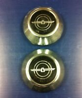 a pair (2) OEM Ford Thunderbird Wheel Centers Caps