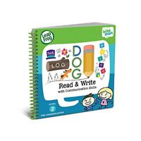 LeapFrog LeapStart Preschool Activity Book  Read and Write and Communication Ski