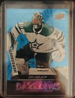 2020-21 UD Series 1 Dazzlers Ben Bishop Blue Dallas Stars Plus 2 Team Cards