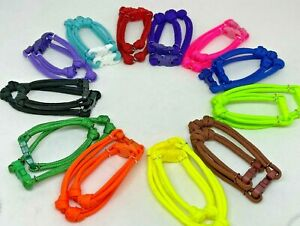 Breeder Puppy Identifcation Collars w/ Buckles - Pairs (Sm/Lg) in Sets of 12