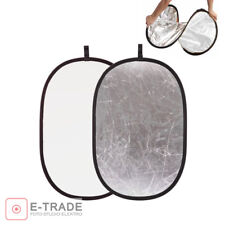 150x200cm 2in1 SILVER / WHITE Multi Photo Collapsible Light Reflector Studio