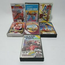 7x Sinclair ZX Spectrum Game Lot Red Scorpion Strangeloop Olli & Lissa & More