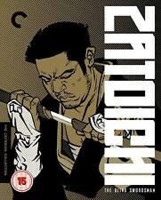 Zatoichi The Blind Swordsman Criterion Collection 9 Bluray Boxset New & Sealed