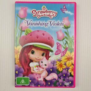 Strawberry Shortcake - Vanishing Violets DVD - Region 4 PAL - TRACKED POST