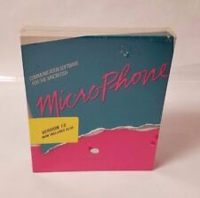 Vintage Macintosh Software - MicroPhone 1.5 - Communication Software