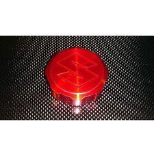 Suzuki S CANDY RED Brake Reservoir Cap - GSXR SV650S SV1000S TL1000 TLS TLR 750F