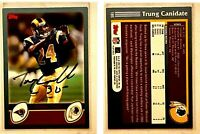 Trung Canidate Signed 2003 Topps #185 Card St. Louis Rams Auto Autograph