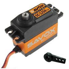 Savox SC-1258TG Super Speed Digital Servo  W/FREE ALUMINUM HORN BK
